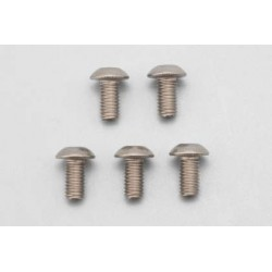 YOKOMO ZC- BH35T Titanium Button Head Socket Screw M3×5㎜ (5pcs)