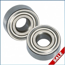 LRP 50621 X12 MR104ZZ Ceramic Ball Bearings (2pcs)