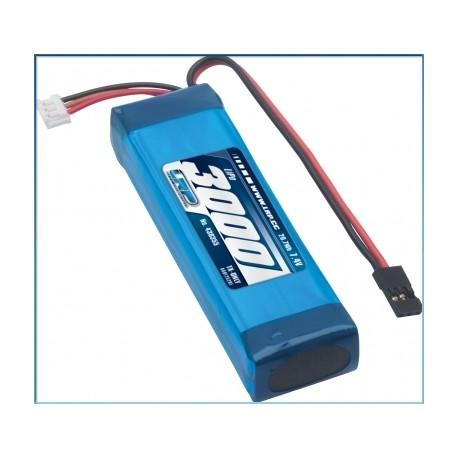 LRP 430355 LiPo 3000 TX-Pack Sanwa M12/MT-4/Exzes-Z/SD-10GS - TX-only - 7.4V