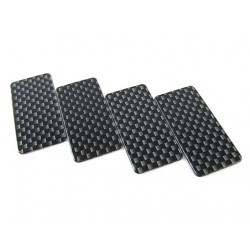 RIDE RI- 27012 Ride Carbon Printed Side Dam 4 Pcs (with Double-side tape)