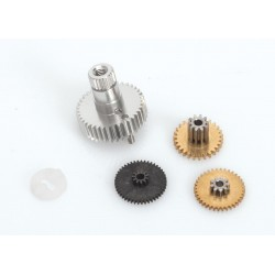SANWA 107A53881A servo gear set (for SRG-BLS, SDX-801)