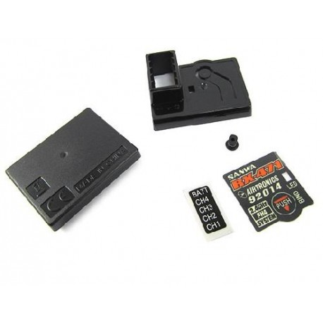SANWA 107A41191A  Protective Case Set For Sanwa RX471 Receiver