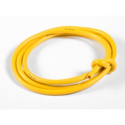 TQ RACING CABLE PURO SILICONA 13AWG AMARILLO