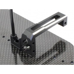 RADTEC RAD- YK-10010 Radtec BD7 Aluminum Floating Servo Mount for Yokomo Version 2014/15