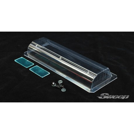 SWEEP SD0012 TC clear light weight wing with mounting hardware set