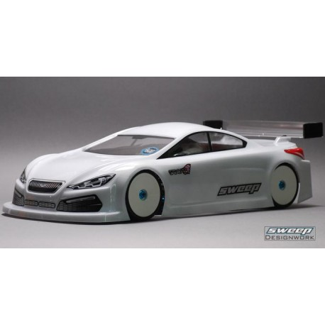 SWEEP SD0016 1/10 Touring car  STC-4 1/10 TC body shell