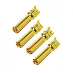 DUALSKY 40721 DB4 Male (4PCS) for racing packs