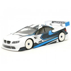 BITTYDESIGN 190M15  M15 EFRA Spec 1/10 Touring Car Body (Clear) (190mm)