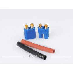 DUALSKY 40519 DC3 SET (1 pair w/ shrink tube)Competiable with EC3