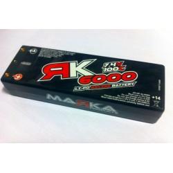 MARKA RACING MRK-6000 Li-Po Racing Battery 6000mAh 100C 7.4V 2S