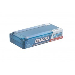 LRP 430202 LiPo 1/12 Competition Car Line Hardcase 6900 - 100C/50C - 3.7V