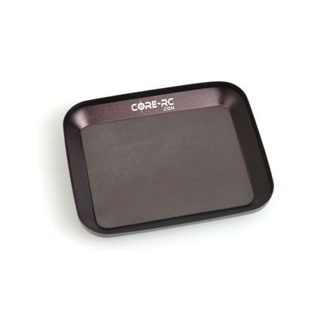 CORE RC CR103 Magnetic Parts Tray Black