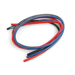 CORE RC CR115 Silicone Wire 12g - Red/Black/Blue 3x50cm