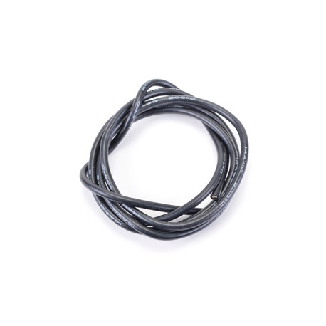 CORE RC CR287 Silicone Wire Black 14 AWG - 1Mtr