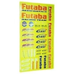 FUTABA 419001 PEGATINA FUTABA 175x320 mm.