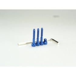 HIRO SEIKO 69418 4PK 4PKS 4pKS super Light Weight Screw (BLUE)