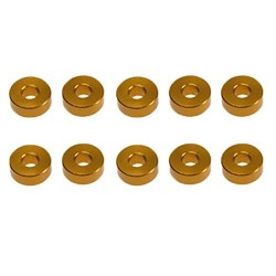 TD709005 TEAM DURANGO Aluminium Spacer 8x3x3mm (10 pcs)