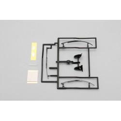 YOKOMO SD- ACD Aero Mirror & Wiper Set