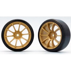 YOKOMO ZR- DR20G ADVAN RACING RS Gold (with 01R Tire)