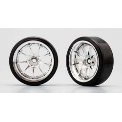 YOKOMO ZR- DR31R Weds Sport SA-70TT (with 01R Tire) 8mm Offset