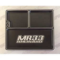 MR33 MR33- LAPT Luxury Aluminum Part Tray - Black