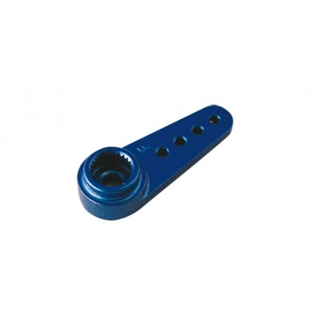 JAMARA 079875 Brazo servo FUTABA aluminio azul