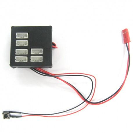 YEAH RACING LK- 0003 Light Kit YR Dark Drifter Main Unit