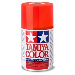 TAMIYA PS- 20 SPRAY ROJO FLUORESCENTE LEXAN