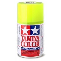 TAMIYA PS- 27 SPRAY AMARILLO FLUORESCENTE LEXAN