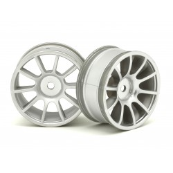 RIDE RI- 25007 1/10 M-Chassis 47, 10 Spoke Wheels matte Silver