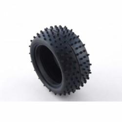 BALLISTIC BBT01 Buggy Mini Spike Rear Tyres (GREEN compound).