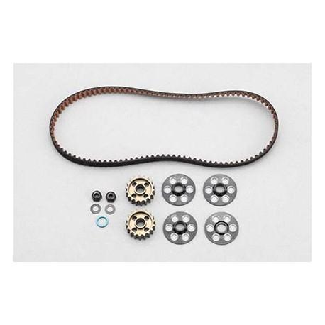 YOKOMO Z4- 309-8 Rear drive belt (103T) for YZ-4