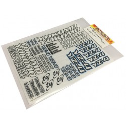 YOKOMO ZC- YZ-4 Decal Sheet for YZ-4