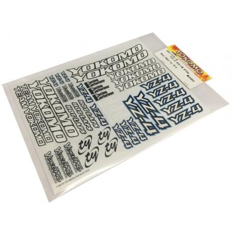 YOKOMO ZC- YZ-4 Decal Sheet for YZ-4