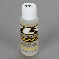 TEAM LOSI TLR74001 SILICONE SHOCK OIL 17,5 WT, 2 OZ