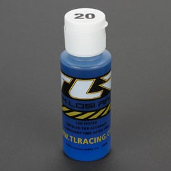 TEAM LOSI TLR74002 SILICONE SHOCK OIL 20 WT, 2 OZ