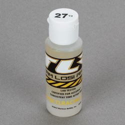 TEAM LOSI TLR74005 SILICONE SHOCK OIL 27,5 WT, 2 OZ