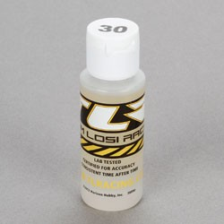 TEAM LOSI TLR74006 SILICONE SHOCK OIL 30 WT, 2 OZ