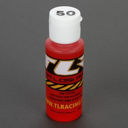 TEAM LOSI TLR74013 SILICONE SHOCK OIL 50 WT, 2 OZ