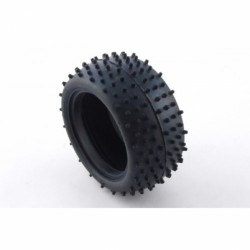 BALLISTIC BBT07 Buggy Mini Spike Rear Tyres (PINK compound).