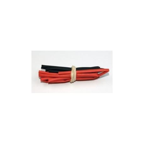 A2P Tubo Termo 3mm Rojo y Negro (2x0,5 mts)