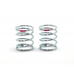 SMJ SILVER LINE SPRING TS2.5-2.8 (Short/Red/2pcs)