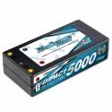 Muchmore IMPACT 5000mAh/7.4V 110C Li-Po Battery Shorty Flat Hard Case FD2