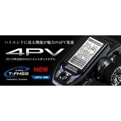 FUTABA 4PV + Lipo 2800 mAh 7.4V (T-FHSS 2,4 GHz.)