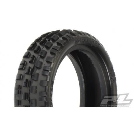 "PL-8230-103 Proline Wedge Squared 2.2"" 2WD Z3 (Medium Carpet) Off-Road Buggy Front Tires"