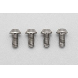 YOKOMO RP-041-06 Racing Performer High precision cutting titanium button head screw M3×6mm