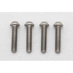 YOKOMO RP-041-14 Racing Performer High precision cutting titanium button head screw M3×14mm