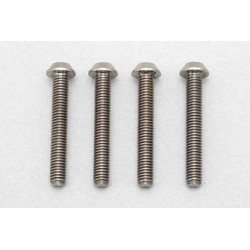 YOKOMO RP-041-20 Racing Performer High precision cutting titanium button head screw M3×20mm