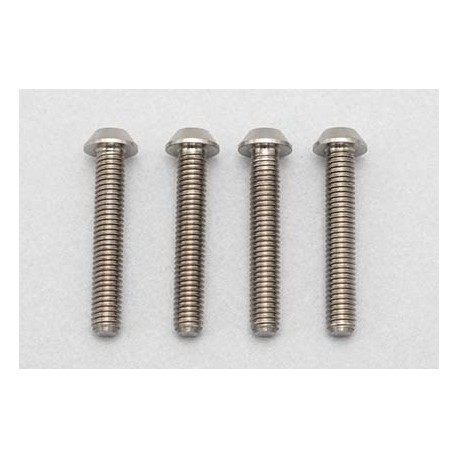 YOKOMO RP-041-18 Racing Performer High precision cutting titanium button head screw M3×18mm