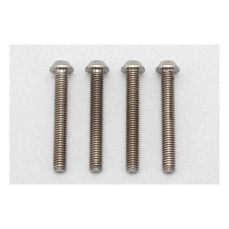 YOKOMO RP-041-22 Racing Performer High precision cutting titanium button head screw M3×22mm